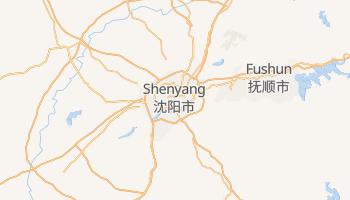 Online-Karte von Shenyang