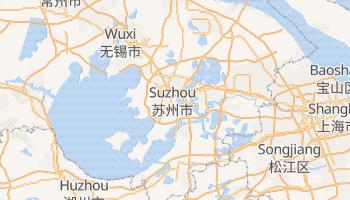 Online-Karte von Suzhou