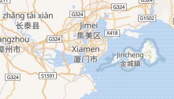 Online-Karte von Xiamen