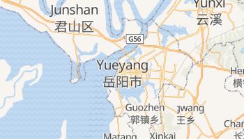 Online-Karte von Yueyang