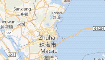 Online-Karte von Zhuhai