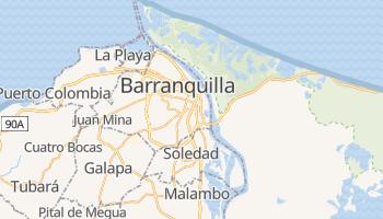 Online-Karte von Barranquilla