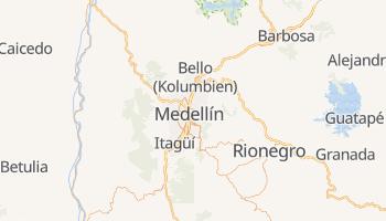 Online-Karte von Medellín