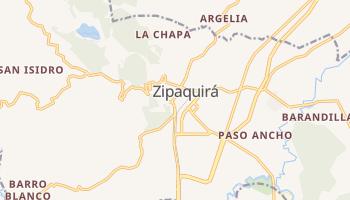 Online-Karte von Zipaquirá