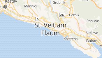 Online-Karte von Rijeka