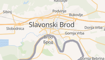 Online-Karte von Slavonski Brod