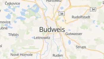 Online-Karte von Budweis