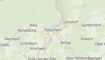 Online-Karte von Děčín