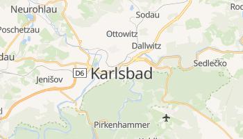Online-Karte von Karlsbad