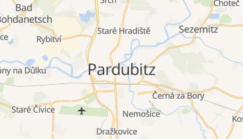 Online-Karte von Pardubice