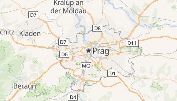 Online-Karte von Prag