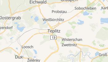 Online-Karte von Teplice