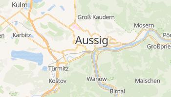 Online-Karte von Aussig