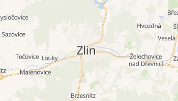 Online-Karte von Zlín