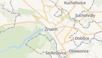 Online-Karte von Znojmo