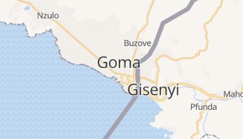 Online-Karte von Goma