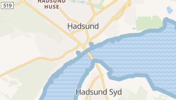 Online-Karte von Hadsund Kommune