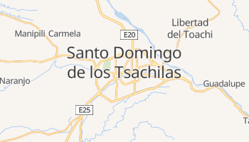 Online-Karte von Santo Domingo de los Colorados