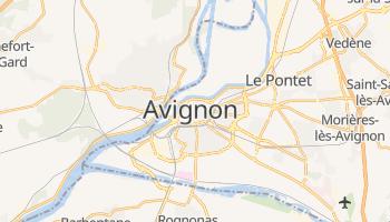 Online-Karte von Avignon