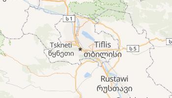 Online-Karte von Tiflis