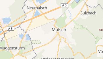 Online-Karte von Malsch