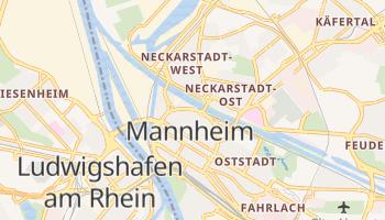 Online-Karte von Mannheim