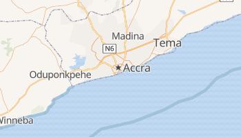 Online-Karte von Accra
