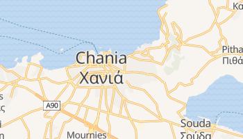 Online-Karte von Chania