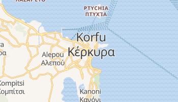 Online-Karte von Korfu