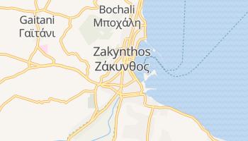Online-Karte von Zakynthos