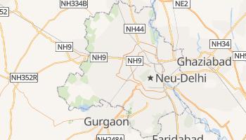 Online-Karte von Delhi