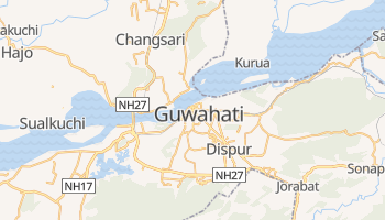 Online-Karte von Guwahati
