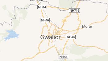Online-Karte von Gwalior