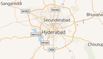 Online-Karte von Hyderabad