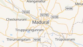 Online-Karte von Madurai