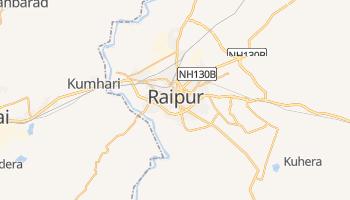 Online-Karte von Raipur