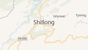 Online-Karte von Shillong