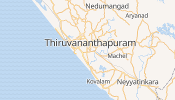 Online-Karte von Thiruvananthapuram