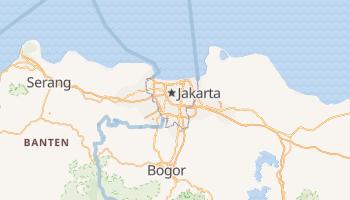 Online-Karte von Jakarta