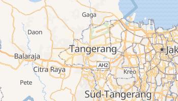 Online-Karte von Tangerang