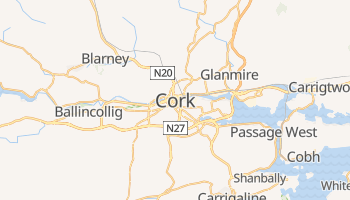 Online-Karte von Cork