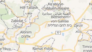 Online-Karte von Betlehem