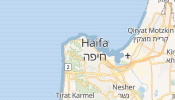 Online-Karte von Haifa