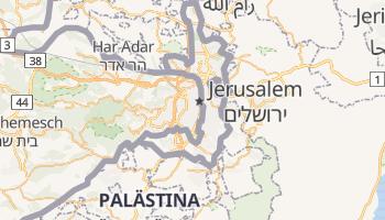 Online-Karte von Jerusalem