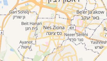 Online-Karte von Nes Ziona