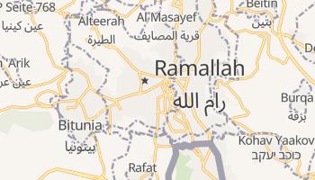 Online-Karte von Ramallah