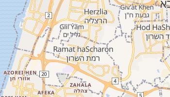 Online-Karte von Ramat haScharon