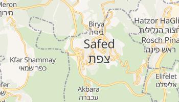 Online-Karte von Safed
