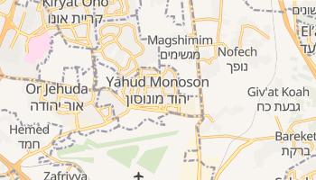 Online-Karte von Jehud