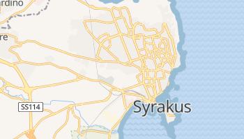 Online-Karte von Syrakus